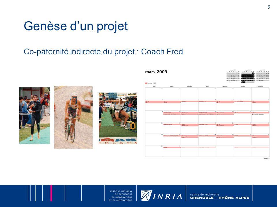5 Genèse dun projet Co-paternité indirecte du projet : Coach Fred