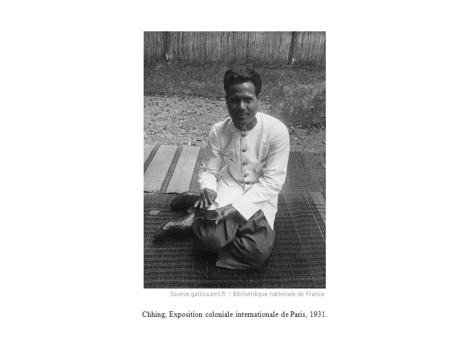 Chhing, Exposition coloniale internationale de Paris, 1931.