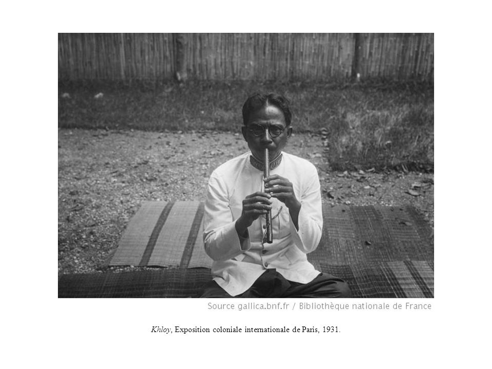 Tror che, Exposition coloniale internationale de Paris, 1931.