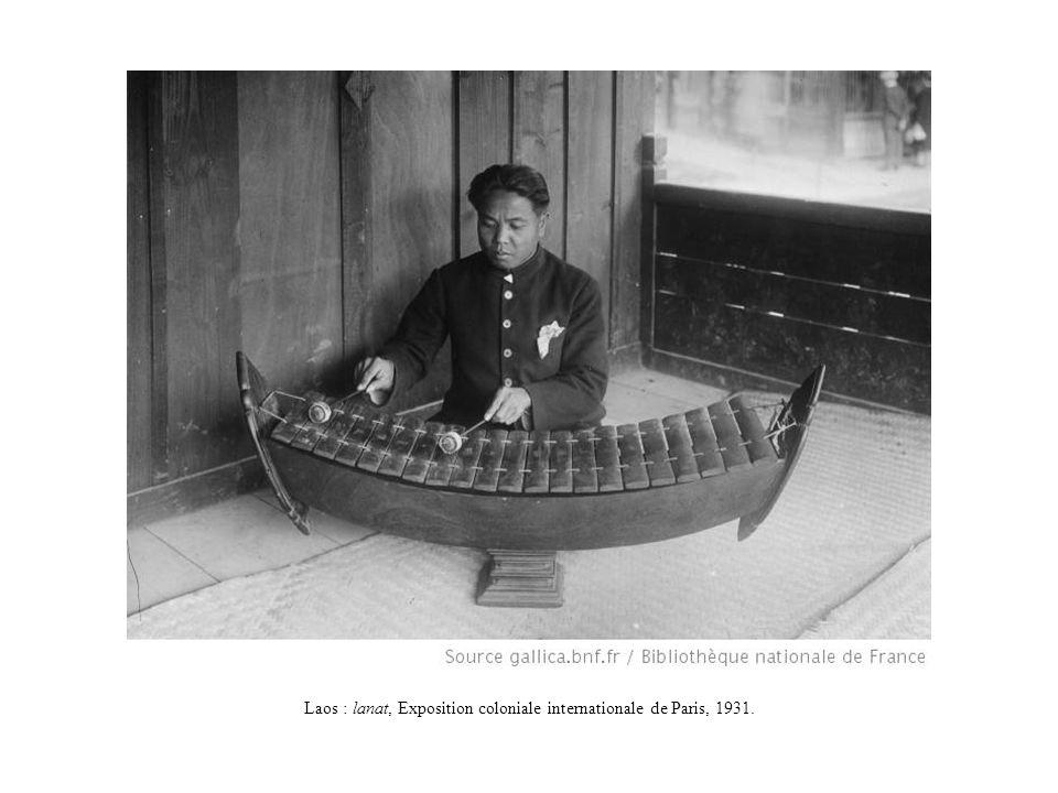 Laos : lanat, Exposition coloniale internationale de Paris, 1931.