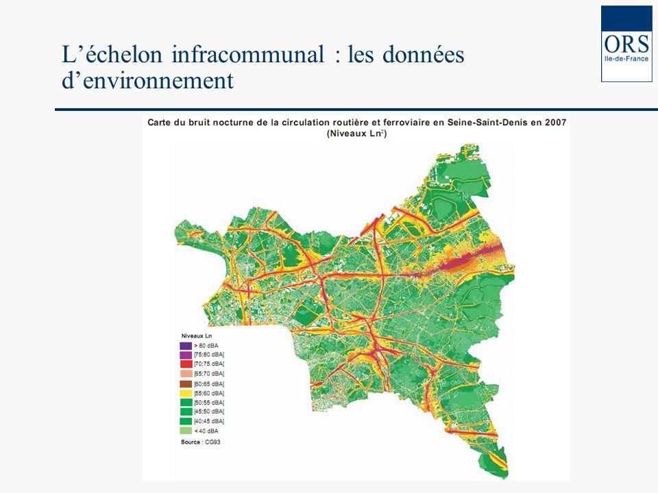 Léchelon infracommunal : les données denvironnement