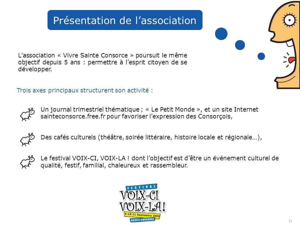 15 D Extraits presse écrite 2003 & 2004 Le festival 2004 a été annoncé sur : - les télés M6 Lyon, TLM, FR3 Lyon - les radios RCF, Lyon 1ère, RTL Lyon, Fréquence Jazz… Un reportage TLM a été réalisé suite à la récompense Trophée du Tourisme du Rhône 2004 (à voir sur notre site internet)
