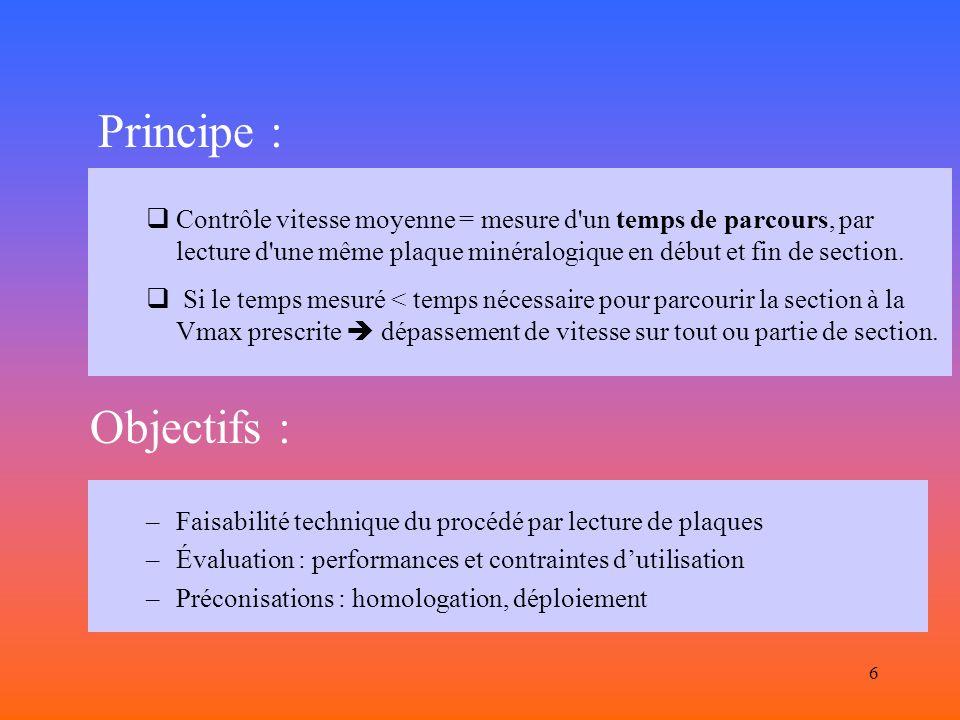 5 PROTOTYPE SCALP Système de Contrôle Automatique par Lecture de Plaque