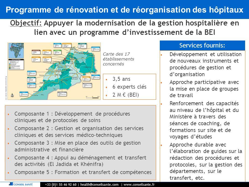 5 Développement et utilisation de nouveaux instruments et procédures de gestion et dorganisation Approche participative avec la mise en place de group