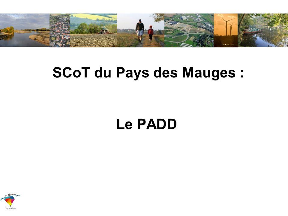 SCoT du Pays des Mauges : Le PADD