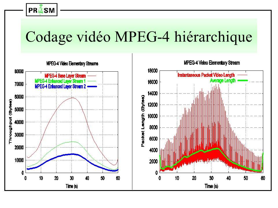 Codage vidéo MPEG-4 hiérarchique