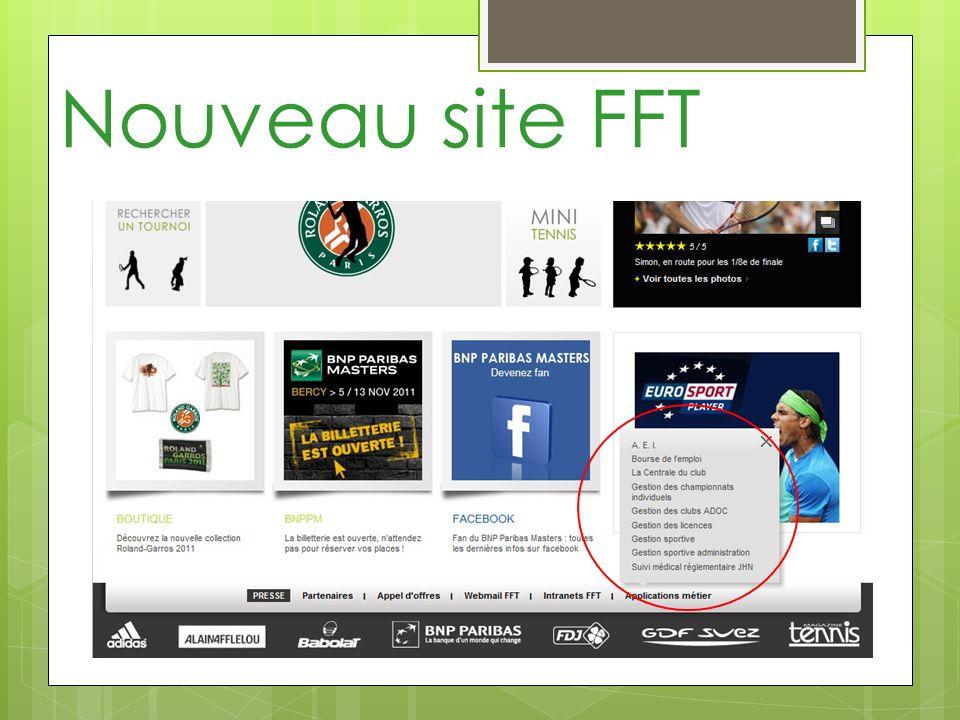 Nouveau site FFT