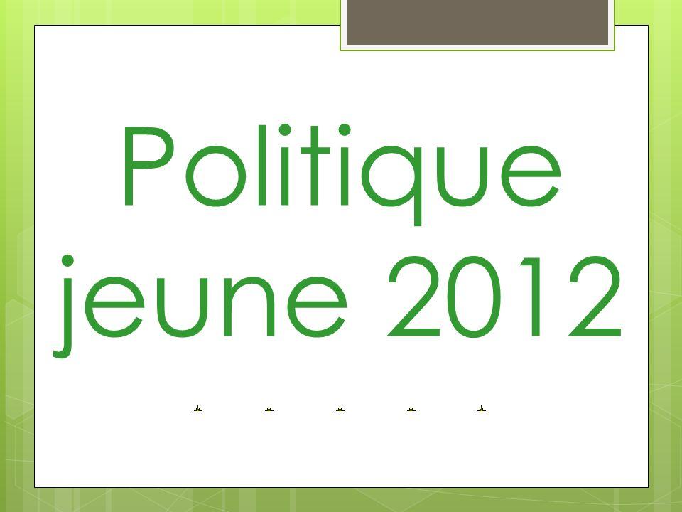 Politique jeune 2012