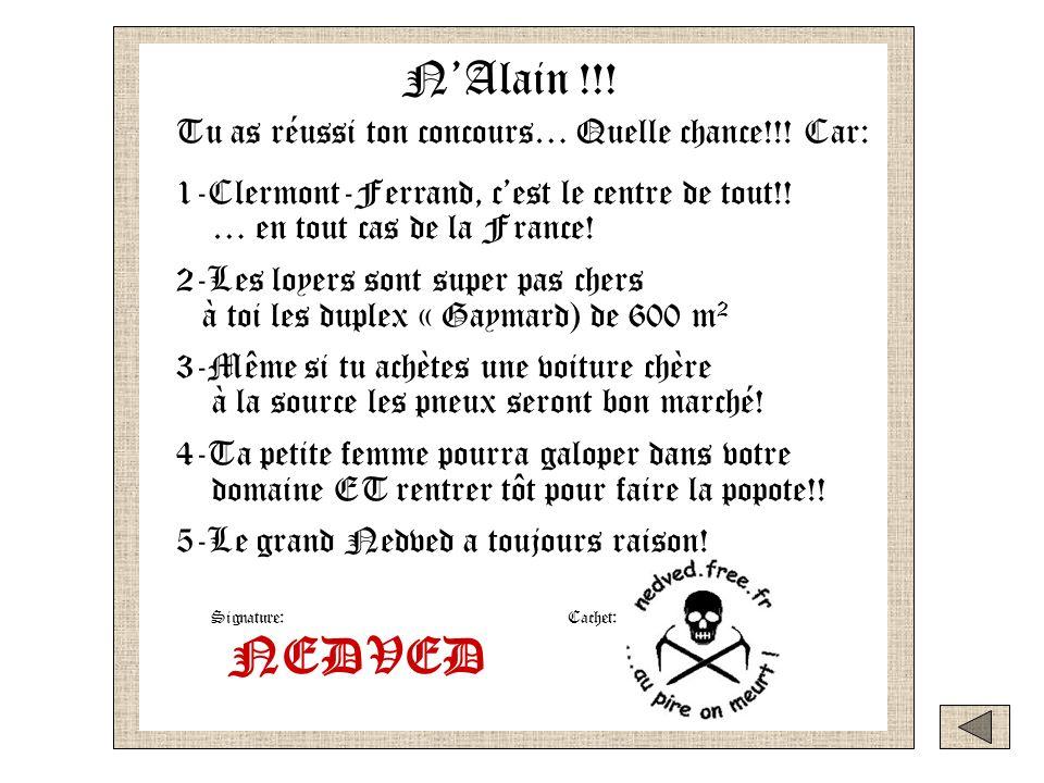 haut bas Pour Alain Si penses avoir raté ton concours,écoute ce message petit NAlain Si penses avoir réussi ton concours,écoute ce message petit NAlain NAlain !!.
