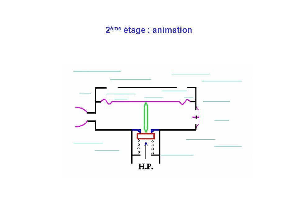 2 ème étage : animation