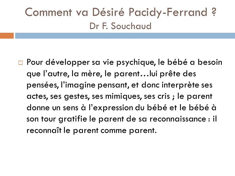 Les besoins du bébé Dans les situations familiales ordinaires, les bébés font très tôt et inévitablement des expériences de discontinuité; alternent en effet pour eux des expériences de séparation et de retrouvaille, de présence et dabsence.