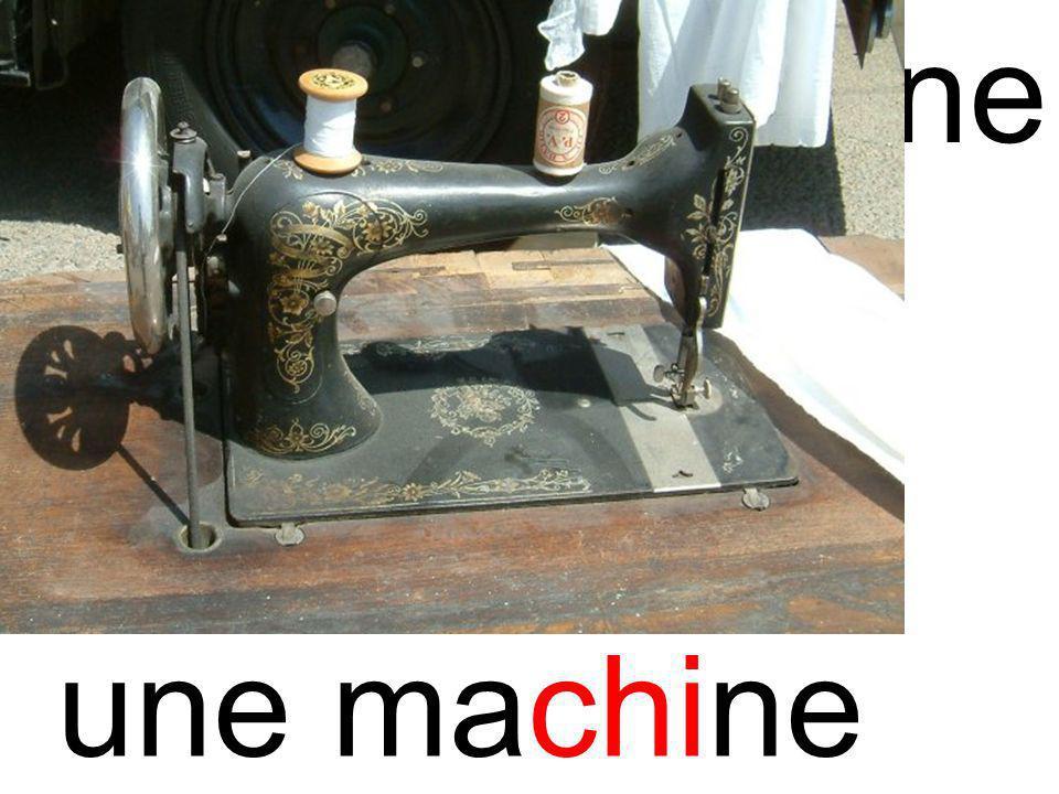 chimachine une machine