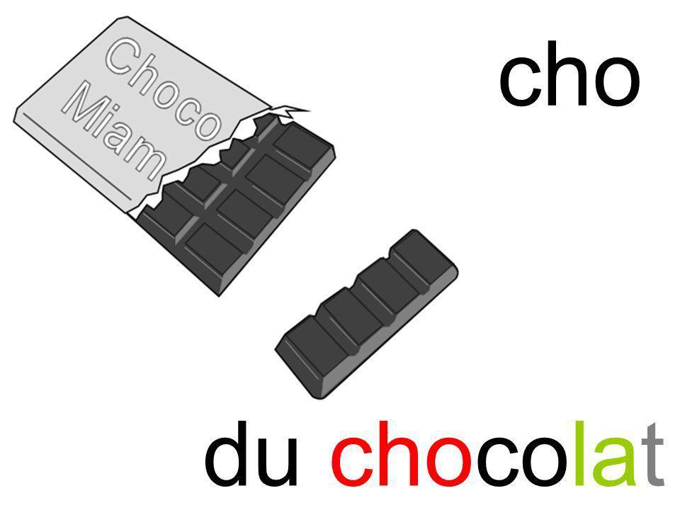 cho du chocolat