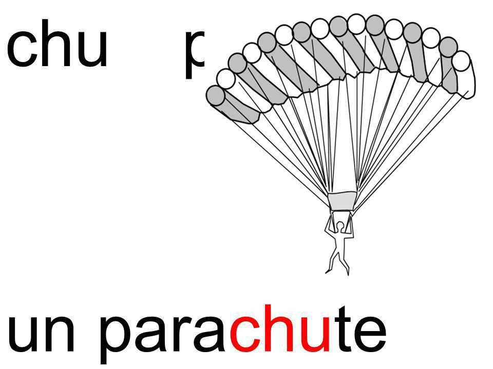 chuparachute un parachute