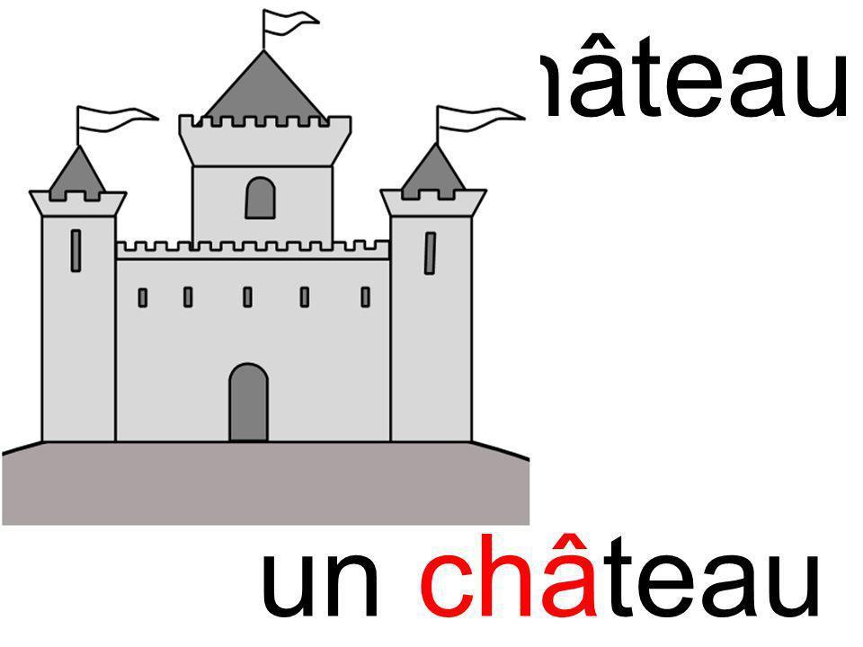 chachâteau un château