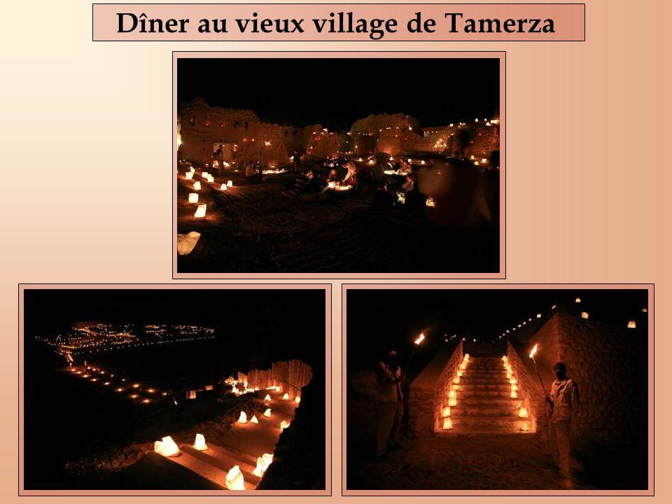 Dîner au vieux village de Tamerza