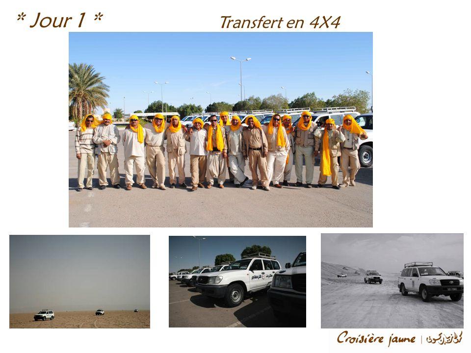 Transfert en 4X4 * Jour 1 *