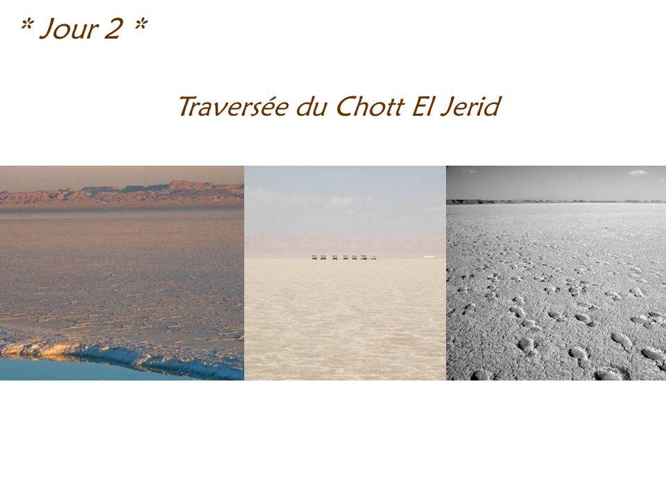 Traversée du Chott El Jerid * Jour 2 *