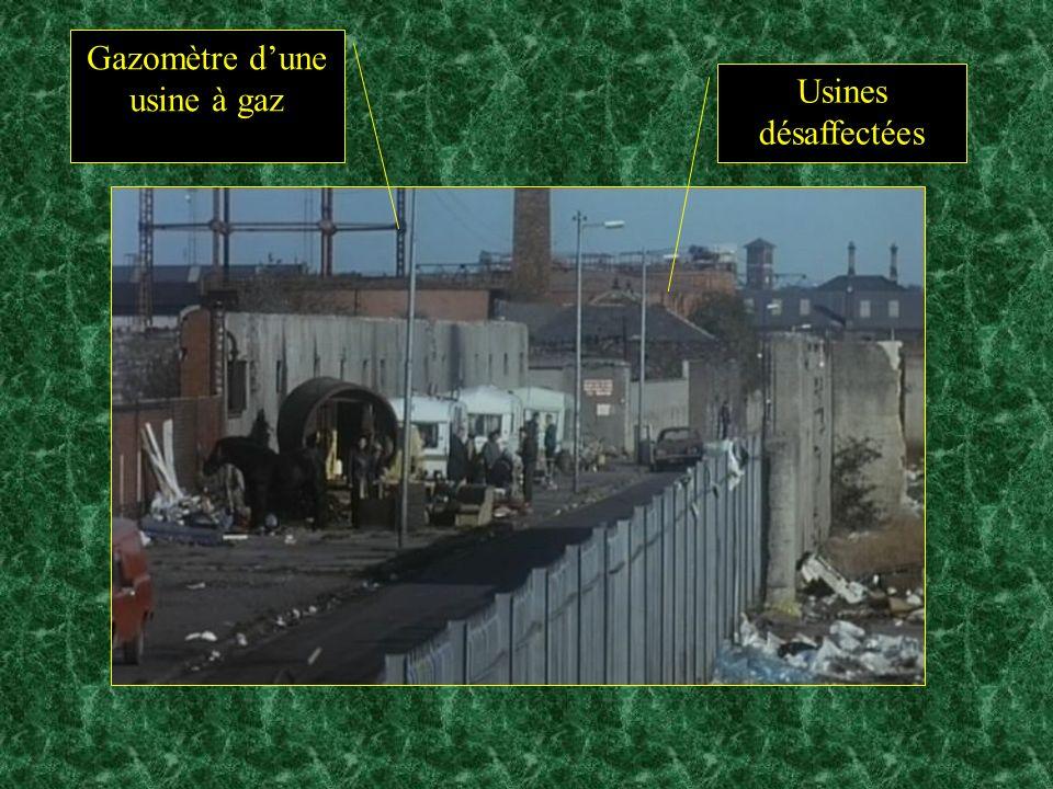 Usines désaffectées Gazomètre dune usine à gaz