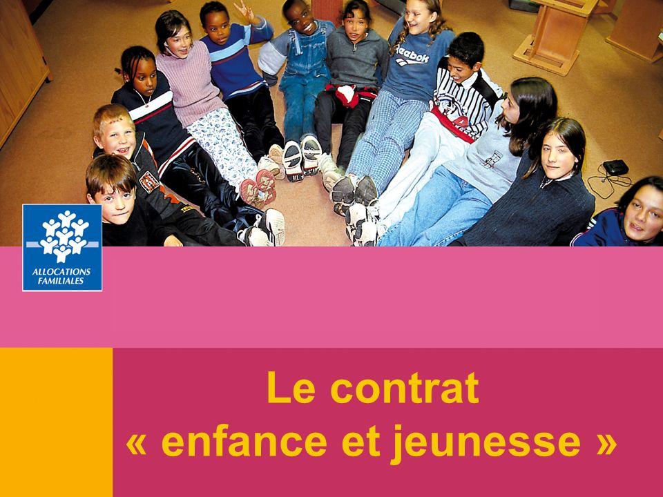 Le contrat « enfance et jeunesse »