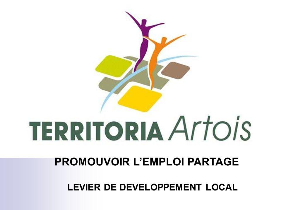 PROMOUVOIR LEMPLOI PARTAGE LEVIER DE DEVELOPPEMENT LOCAL