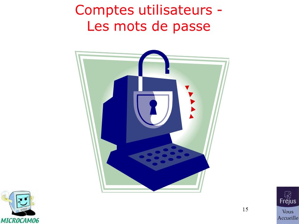 15 Comptes utilisateurs - Les mots de passe