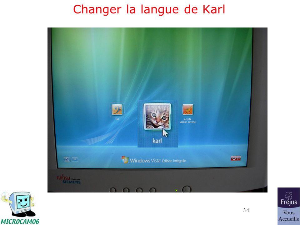 34 Changer la langue de Karl