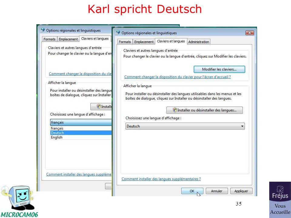 35 Karl spricht Deutsch