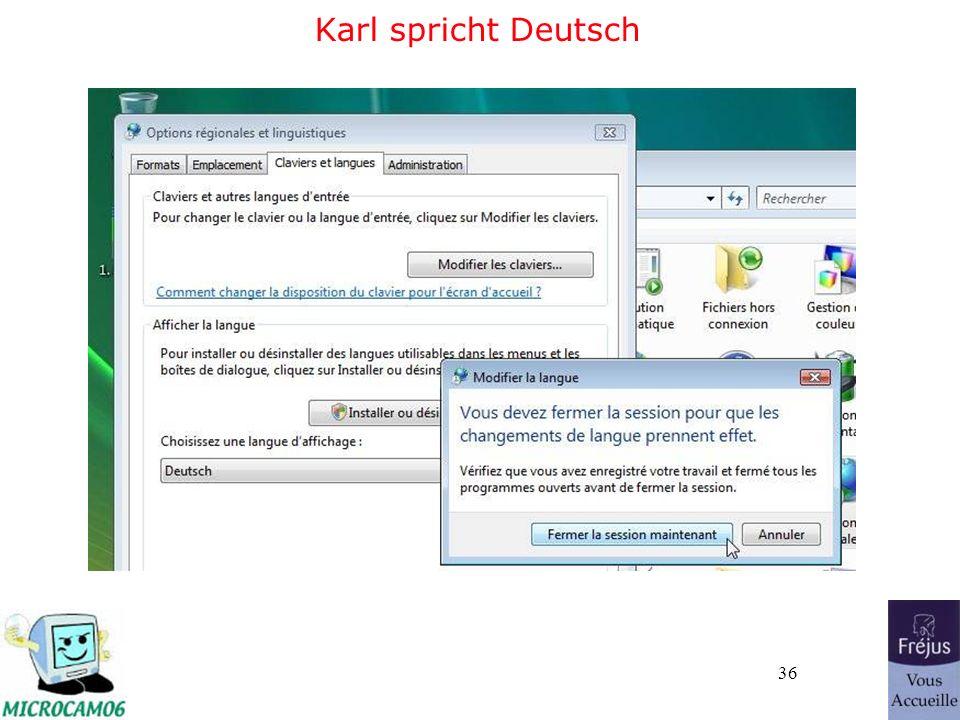 36 Karl spricht Deutsch