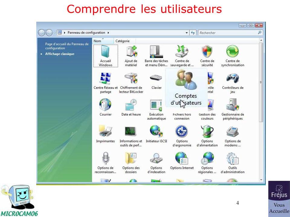65 Réparer depuis le DVD de Windows Vista