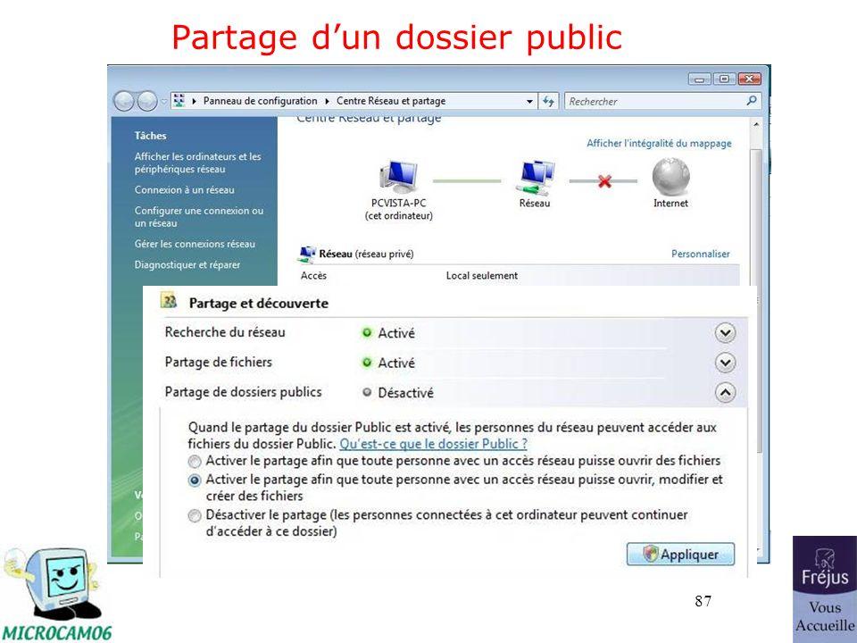 87 Partage dun dossier public