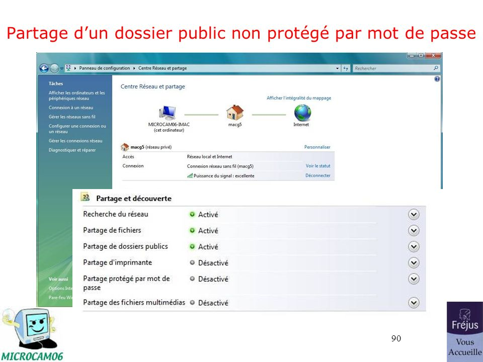 90 Partage dun dossier public non protégé par mot de passe