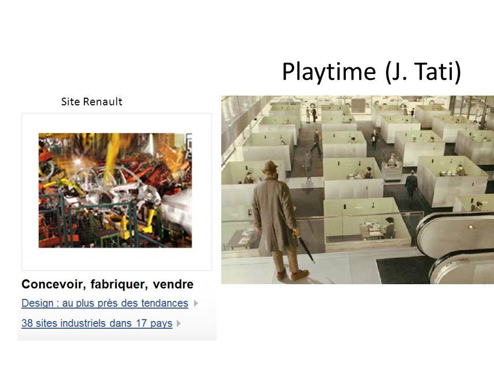 Playtime (J. Tati) Site Renault