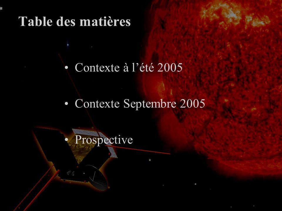 Quelle(s) mission(s) solaire(s) pour Cosmic Vision 28 septembre 2005 T.Appourchaux et le groupe CV PNST, IAP