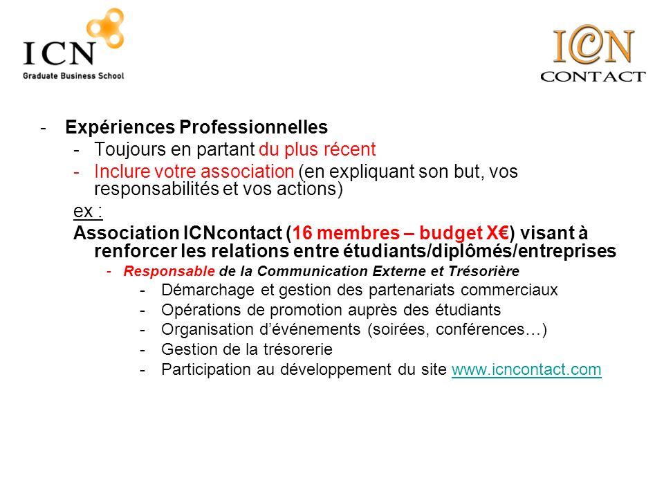 -Compétences Linguistiques et Informatiques -Linformation que recherche le recruteur, est de savoir dans quelle mesure vous allez pouvoir utiliser ces compétences dans un cadre professionnel.