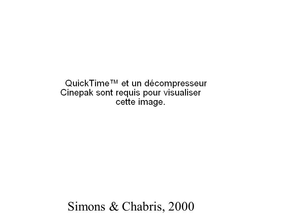 Simons & Chabris, 2000