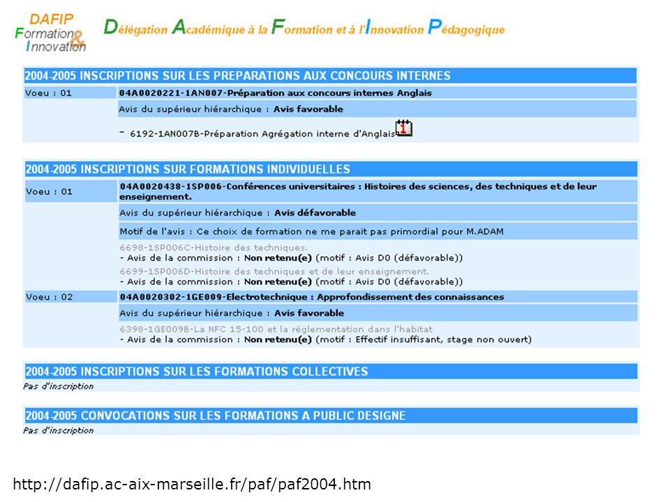 Entrée gestionnaire Création dun module http://gaiagest.in.ac-aix-marseille.fr/gaiagest/ Groupe + session saisis par les gestionnaires au moment des convocations