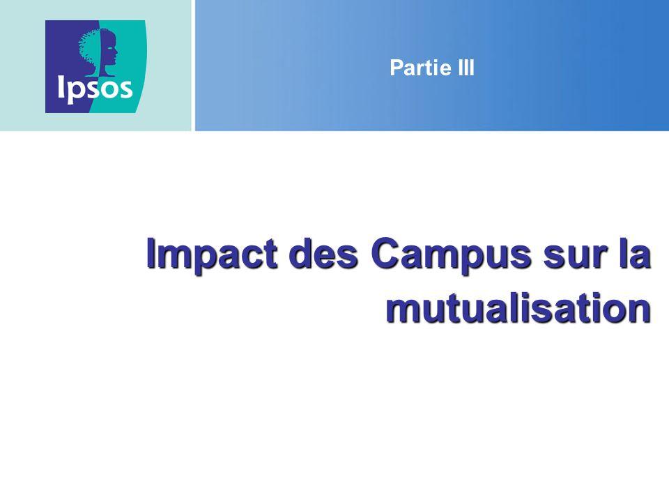 Impact des Campus sur la mutualisation Partie III