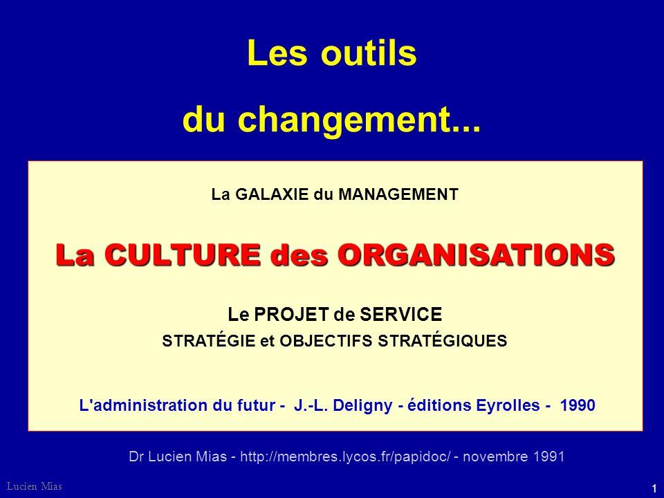 21 Lucien Mias Les orientations du changement culturel - Structures : décentralisées.