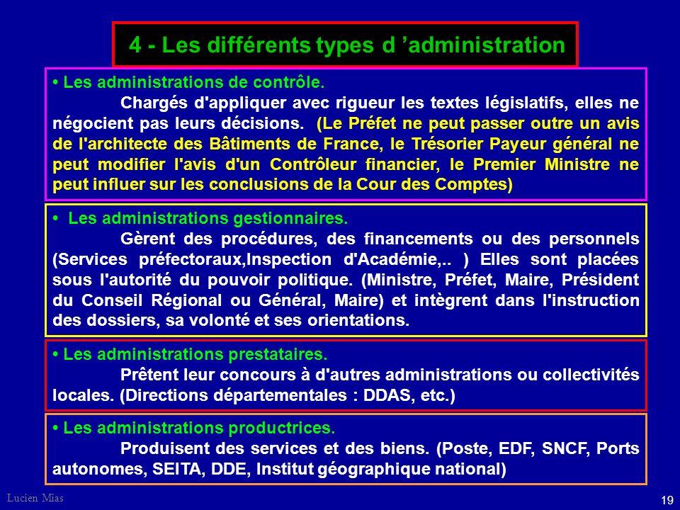 18 Lucien Mias 3 - Le statut de la fonction publique SYSTÈME DE LA CARRIÈRE : s'appuie sur l'idée que servir l'État n'est pas un métier comme les autr