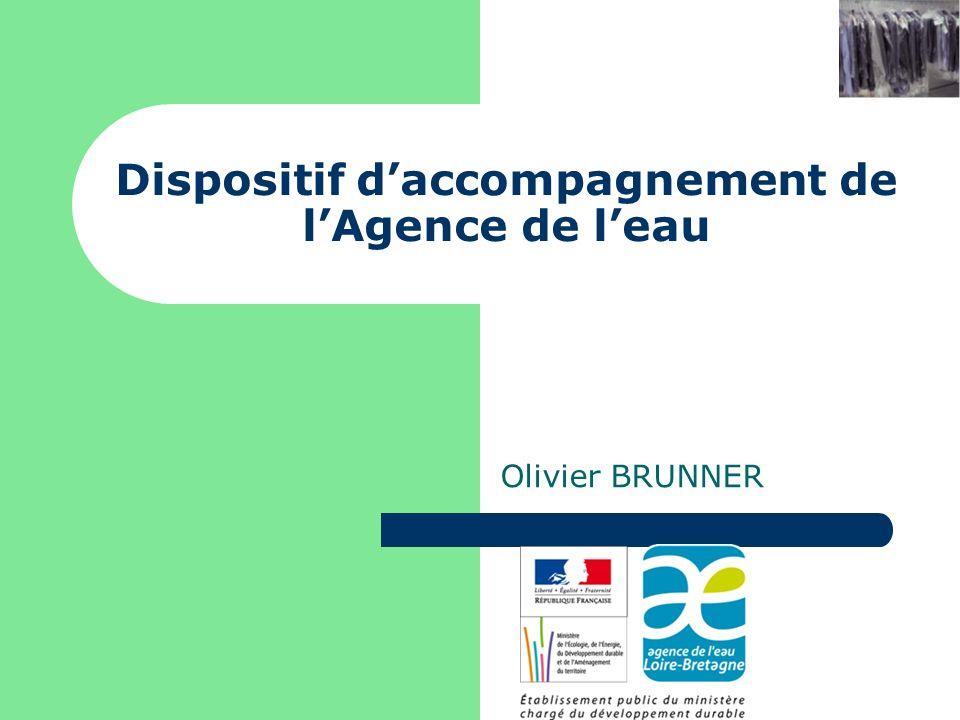 Dispositif daccompagnement de lAgence de leau Olivier BRUNNER