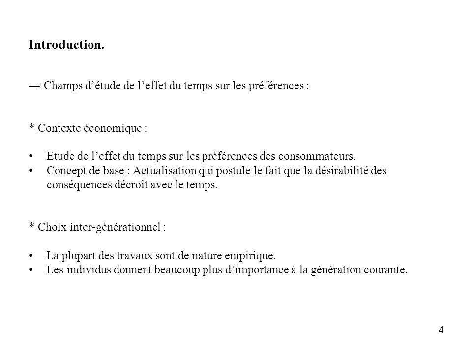 5 Introduction.Cadre : problème du choix multicritère où : - A : ensemble d actions.
