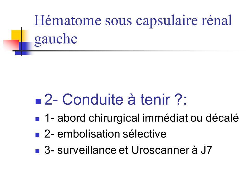 TDM abdominal injecté: lexamen de référence