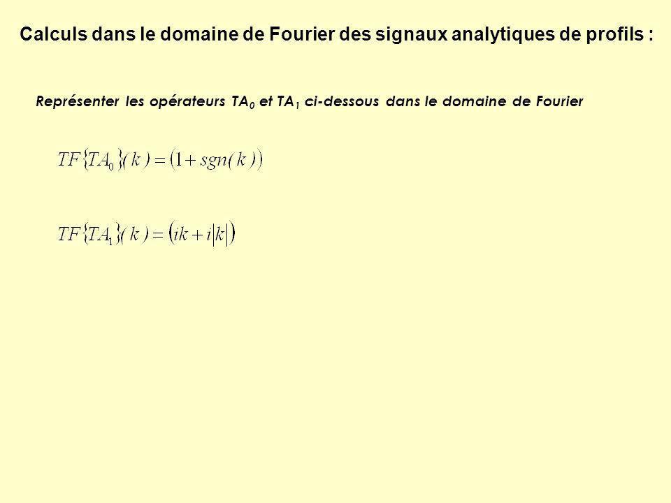 Réduction au pôle = Passage de quelconque à TF où Calculs dans le domaine de Fourier de la réduction au pôle de profils : Rappel du principe via lanomalie dune source ponctuelle Expression de la réduction au pôle Dérivée seconde en z Intégrations en m 0 et en f 0