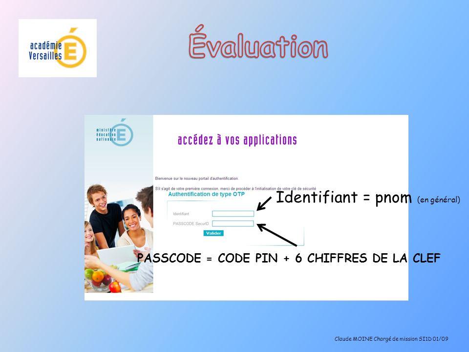 Synthèse individuelle qui peut être destinée aux parents Claude MOINE Chargé de mission SI1D 01/09