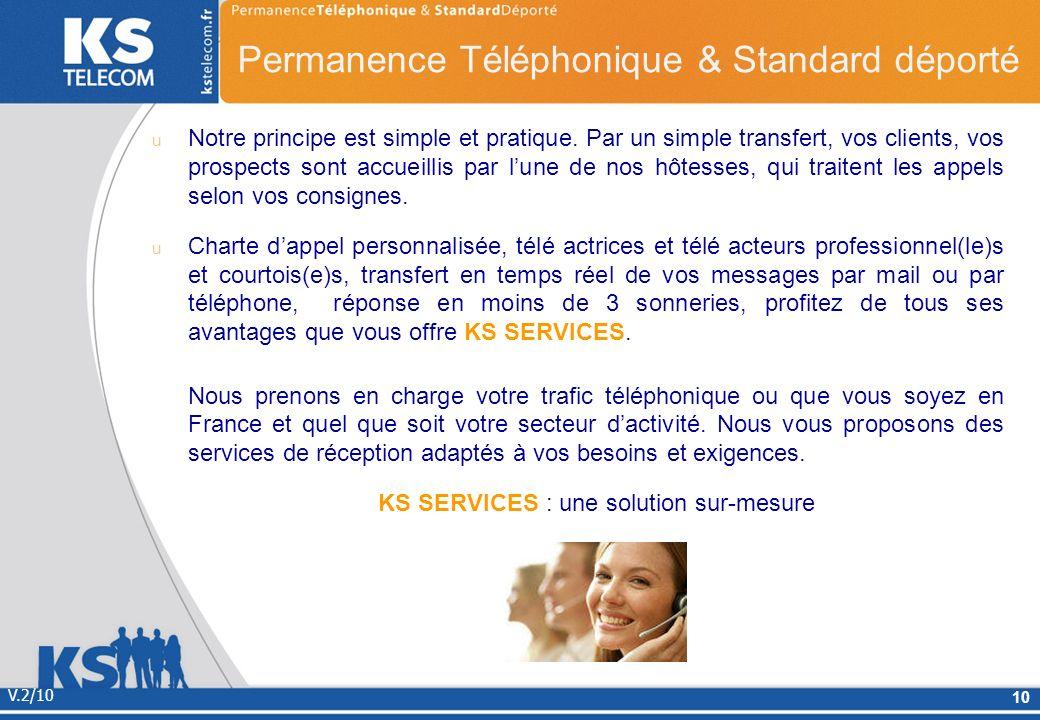 Notre principe est simple et pratique. Par un simple transfert, vos clients, vos prospects sont accueillis par lune de nos hôtesses, qui traitent les