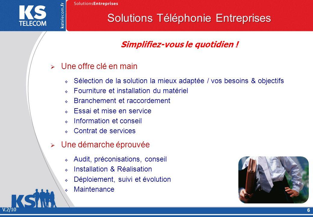 V.2/10 7 Solutions Domaine Retraite Santé IP VIDEO TELEVISION TELEPHONIE FIXE & MOBILE ANTI FUGUE APPEL INFIRMIERE RESEAU ADSL SDSL VOIP VISIO ASSISTANCE GUICHET UNIQUE Restez en contact, Sauvez des vies .