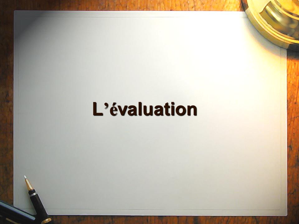 L é valuation