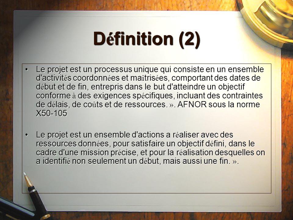 Les diff é rents types de projet Projet d ing é nierie ou projet clientProjet d ing é nierie ou projet client Le projet de d é veloppementLe projet de d é veloppement