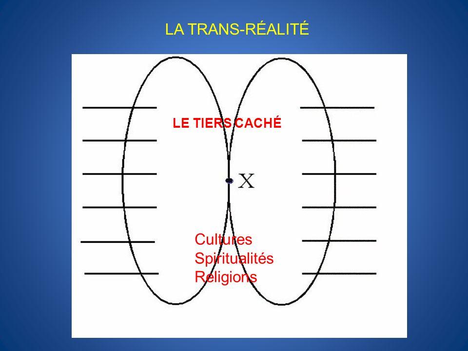 LE TIERS CACHÉ LA TRANS-RÉALITÉ Cultures Spiritualités Religions